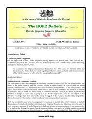 October 2006 - Ahmadiyya Anjuman Isha'at-e-Islam Lahore