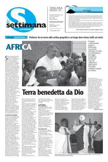 n. 32 del 16 settembre 2012 - Diocesi di Livorno