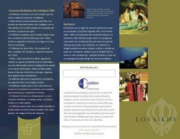 Creencias Medulares de la Religión Sikh Gurdwara - Khalsa Kids