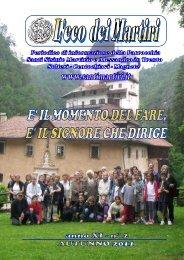 L'eco dei Martiri _ autunno 2011 - Santimartiri.It