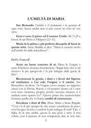 SABATO 9 SETTEMBRE 2006 - Parrocchia San Michele Arcangelo ...