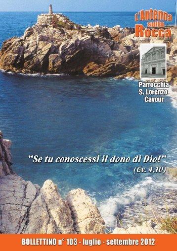 Bollettino Parrocchiale n. 103 - Cavour