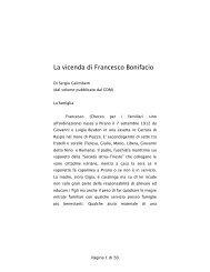 Scarica la vita di Don Bonifacio (in PDF) - Arcipelago Adriatico
