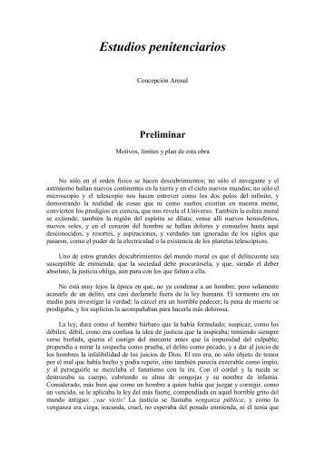 Estudios penitenciarios - Revista Pensamiento Penal