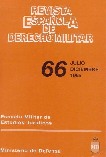 Nº 66 1995 Julio/Diciembre - Portal de Cultura de Defensa ...