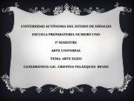 Arte de Egeo - Universidad Autónoma del Estado de Hidalgo