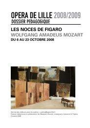Dossier pédagogique Les Noces de Figaro - Opéra de Lille