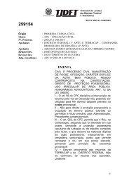 Acórdão N. 259154 (2006) - TJDFT