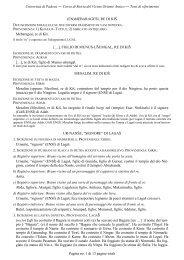 Corso di Storia del Vicino Oriente Antico ― Testi ... - Lettere e Filosofia