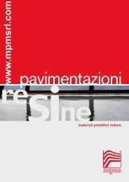 RESINE pavimentazioni - mpm