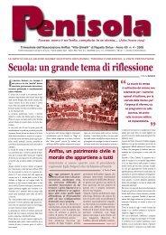 "PENISOLA Anno XII n. 4 2008 - Associazione Anffas ""Villa Gimelli"""