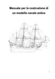 Manuale per la costruzione di un modello navale antico