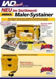 MIRKA Maler-Systainer, 06/2013-1 - Werkzeuge Dietrich