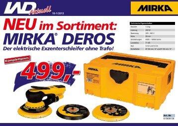 MIRKA DEROS-Aktion, 10/2013-1 - Werkzeuge Dietrich