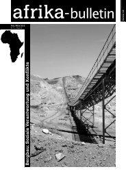Nr. 149, Februar/März 2013: Bergbau - Afrika-Komitee
