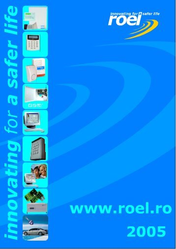 Cerber C612. The New Burglary Control Panel - ROEL Electronics SA