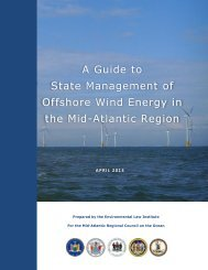 A Guide to State Management of Offshore Wind Energy in the Mid ...