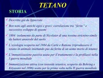 Teteano - Medicina e Chirurgia