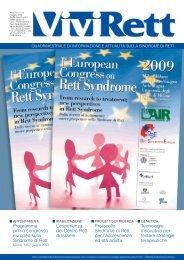 Numero n.52 - Associazione Italiana Sindrome di Rett