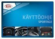 Kia Sportage - käyttöohjekirja (pdf) - Delta.fi