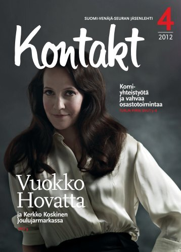 Kontakt 4.2012.pdf - Suomi-Venäjä-Seura