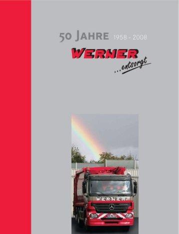 50 Jahre - Werner-entsorgt.de