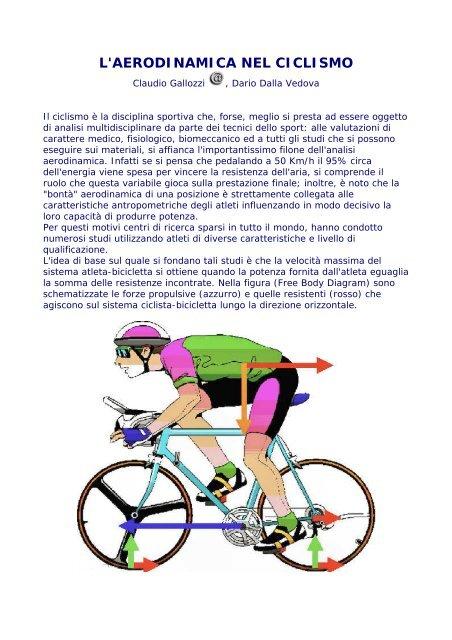 aumento della perdita di peso della bicicletta stazionaria
