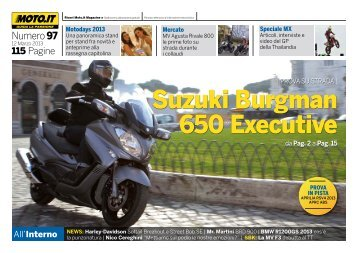 Suzuki Burgman 650 Executive - Moto.it