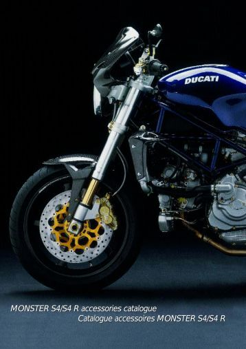 MONSTER S4/S4 R accessories catalogue Catalogue ... - Ducati