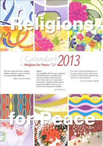 9.1 Calendario interreligioso 2013 - Euclide. Giornale di matematica ...