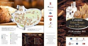 Brochure della Manifestazione - Comune di Corciano