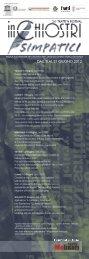 scarica la locandina - Osservatorio Bendandi