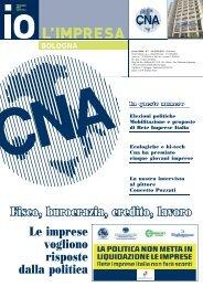 io l'impresa febbraio 2013 - CNA Informa