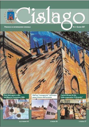 0139-CIS 06.07 ultver - Comune di Cislago