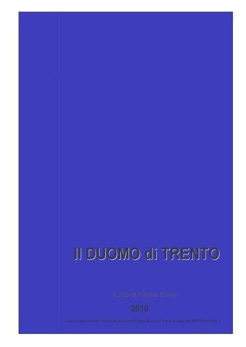 Il Duomo di Trento – PDF - IRC Trentini