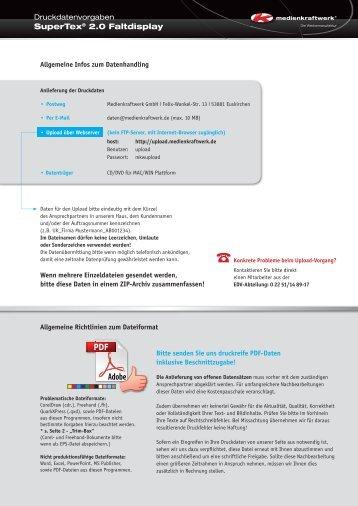 Bitte beachten - Medienkraftwerk GmbH