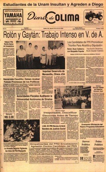 , ,O LIMA HONDA - Universidad de Colima