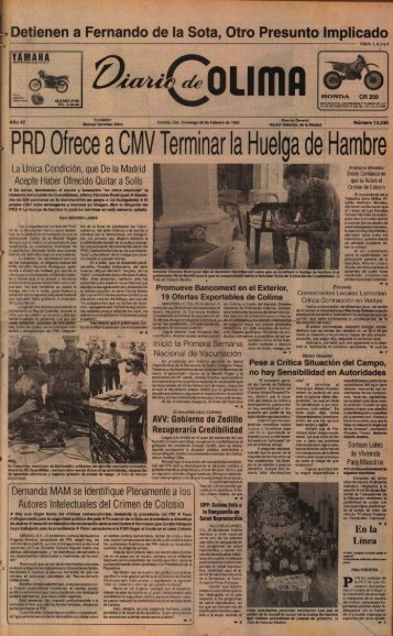 Detienen a Fernando de la Sota, Otro Presunto Implicad o