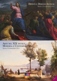dipinti e disegni antichi arte del xix secolo, moderna e contemporanea
