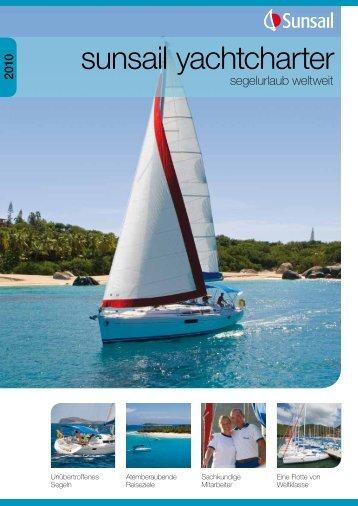 sunsail yachtcharter