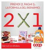 PRENDI 2, PAGHI 1: - Unicoop Tirreno
