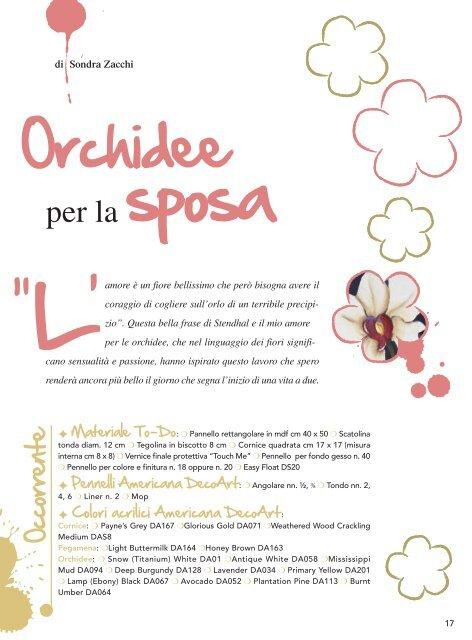 ecorative ainting - Sondra Zacchi