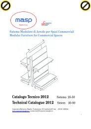 Download the catalog MASP - Masp Arredamenti, Arredamenti e ...