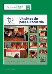 REVISTA 106_Final.indd - Colegio de Traductores Publicos de la ...