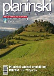 avgust 2008 - Planinski Vestnik