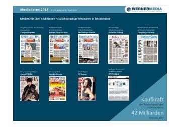 Kaufkraft 42 Milliarden - wernermedia.de