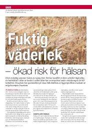 Fuktig väderlek - ökad risk för hälsan.pdf - Svenska Pig