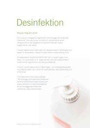 Desinfektion - OneMed Sverige AB