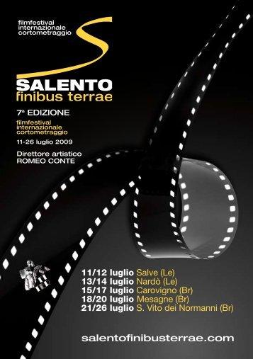 download programme - Salento Finibus Terrae