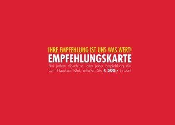 WW Empfehlungskarte Flyerwire RZ1007.indd - Werner Wohnbau